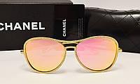 Женские солнцезащитные очки Chanel 71108 Розовый цвет