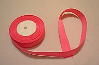 Лента репсовая ширина 2,5 см цвет - малиновый