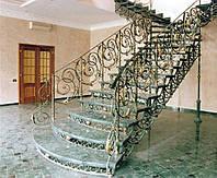 Лестница кованая 0017