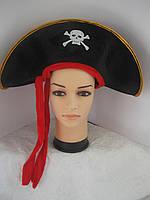 Пиратская Шляпа с лентой, фото 1