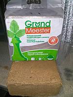 Кокосовый субстрат грунт GrondMeester 5 кг брикет, фото 1