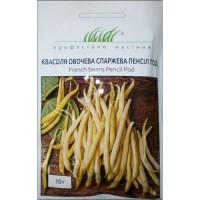 Насіння квасолі овочевої спаржевої Пенсіл Под, 10 г