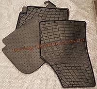 Коврики в салон резиновые Stingray 2шт. для Audi A8 2010-2014