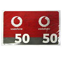 Карточки п/с Vodafone  50 грн
