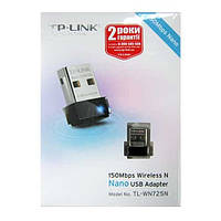Беспроводный адаптер TP-Link TL-WN725N   150Mbps  Wireless USB adapter
