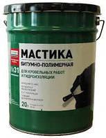 Битумная мастика ТехноНИКОЛЬ №31 для гидроизоляции фундаментов и резервуаров