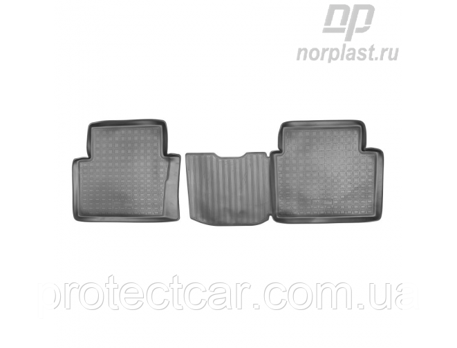 Коврики в салон Nissan QASHQAI +2 (задние)