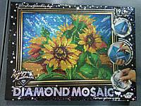 "Данко-Тойс Набор для тв. ""DIAMOND MOSAIC"" Алмазная/ПОДСОЛНУХИ"
