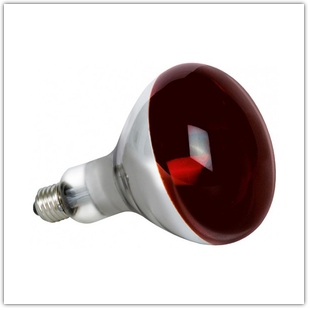 Лампа RIGHT HAUSEN125W E27 Красная (HN-095030)