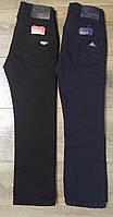 Штаны,джинсы на флисе для мальчика 6-10 лет(черные) пр.Турция