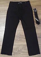 Штаны,джинсы на флисе для мальчика 6-10 лет(розн)(черные) пр.Турция