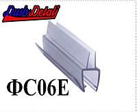 Брызговик для двери душевой кабины нижний ( ФС06Е )