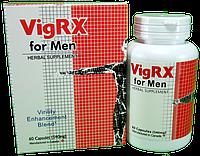 Натуральный препарат для усиления потенции и увеличения члена - Вигрикс / VigRX for Men, 60 капсул, фото 1