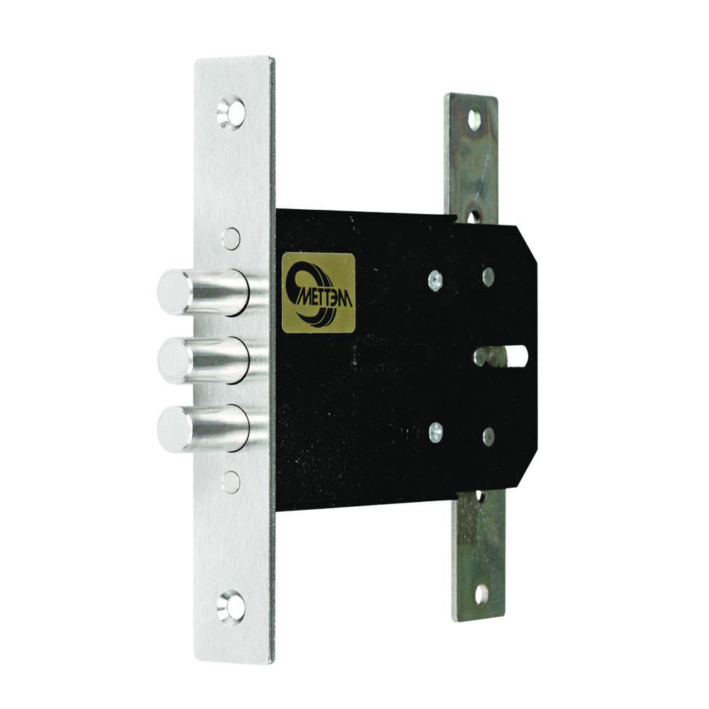Замок врезной Меттэм ЗВ8 852.1.0 3 ключа, аналог 1.04.04