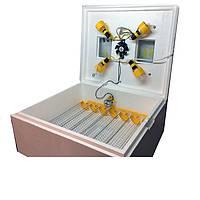 Инкубатор Теплуша ИБ-63 яйца автомат с вентилятором