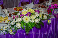 Оформление банкетного зала на свадьбе.  http://irgul.at.ua/  тел.0502187520