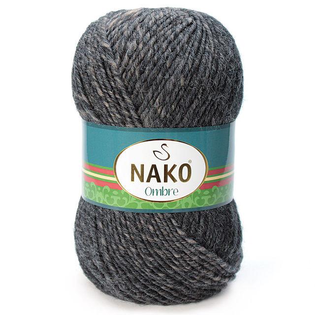 Турецька пряжа для в'язання Nako Ombre. Перехідна