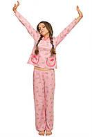 """Детская пижама """"Бемби"""" для девочки (розовый)"""