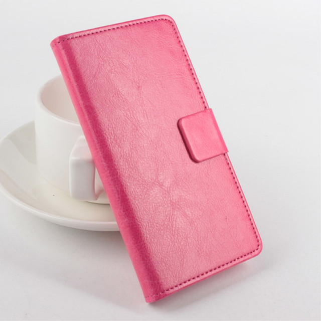 розовый чехол книжка на lenovo a5000