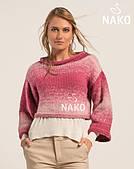 Nako ombre перехідна (25% вовна, 75% преміум акрил, 190 м)