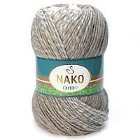 Турецкая пряжа для вязания Nako Ombre. Переходная