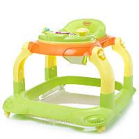 Купить ходунки 4 Baby Walkie Green (салат)