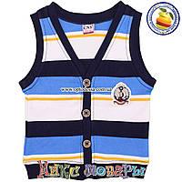 Стильная жилетка на пуговицах для малышей от 1 до 4 лет (4901-3)