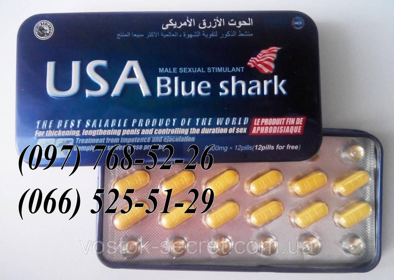 препараты от потенции акула