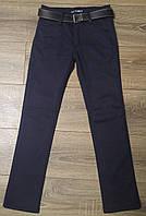 Штаны,джинсы на флисе для мальчика 6-10 лет(синие) пр.Турция