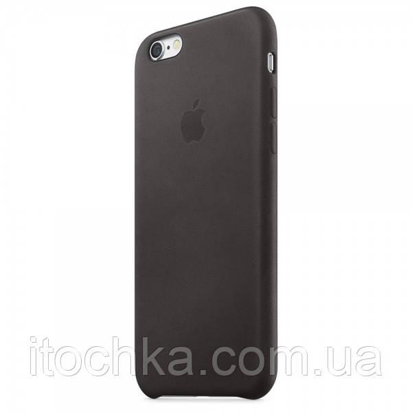 Apple iPhone 6S Plus Leather Case Black MKXF2