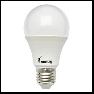 2102 G-лампа LED 10W 4100K Е27 SIRIUS