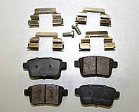 Дисковые тормозные колодки задние на Renault Kangoo II 2008->  —  Kamoka (Польша) - KAMJQ101136