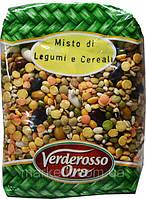 Суповой набор: чечевица, горох, фасоль Misto di Legumi Verderosso Oro, 500 гр., фото 1