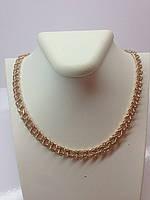 Увесистая золотая цепочка плетения бисмарк 585* пробы