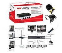 Комплект видеонаблюдения Hikvision DS-J142I (4 out)