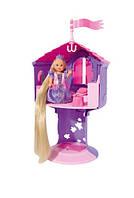 """Кукольный набор Еви """"Рапунцель в башне"""" с длинными волосами,  Высота башни 32 см (573 1268)"""