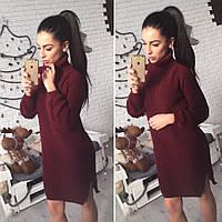 Платье-туника вязка