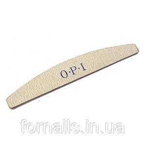 Пилка Opi 100/120,бумеранг