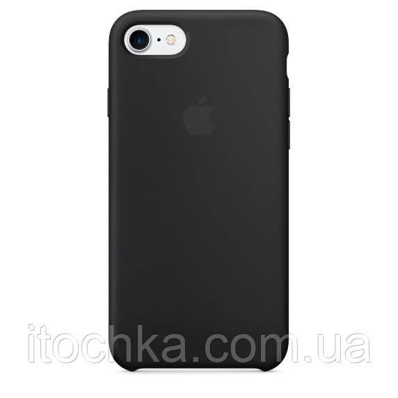 Apple iPhone 7 Silicone Case Black (MMW82)