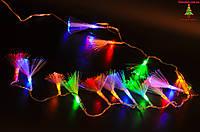 Новогодняя гирлянда «кисточка», 102 led-лампочки, силиконовая изоляция провода, 4 цвета, Харьков