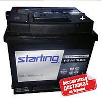 Аккумулятор Starting 50A 480A R+ 207*175*190
