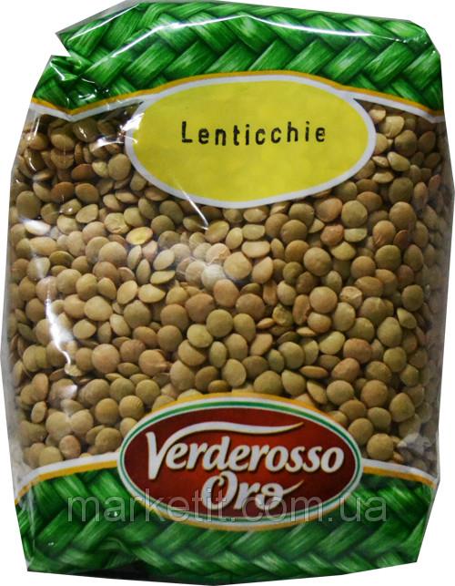 Чечевица Lenticchie Verderosso Oro, 500 гр.