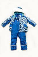 """Зимний детский костюм-комбинезон для мальчика """"Geometry new"""""""