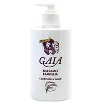"""Бальзам для волос с семенами овса """"Мягкие и блестящие волосы"""" - Gaia Balsamo Famiglia 500ml"""