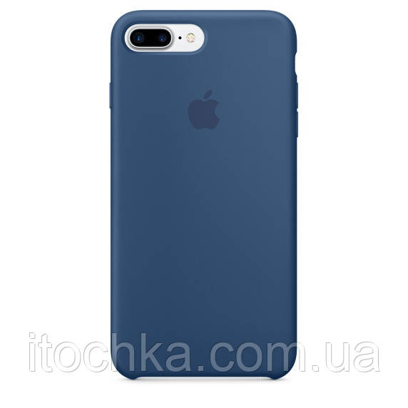 Apple iPhone 7 Plus Silicone Case Ocean Blue(MMQX2)