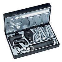 Ветеринарный диагностический набор ( отоскоп, офтальмоскоп, назальное зеркало ) Riester Vet Delux, Германия