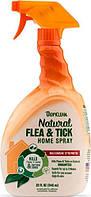 Tropiclean Flea & Tick спрей для обработки мест содержания животных, 946 мл (320017)