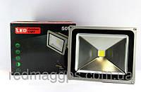 Прожектор светодиодный LED LAMP 50W, мощный уличный прожектор