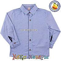 Турецкая Рубашка с длинным рукавом для мальчика от 1 до 4 лет (4905)