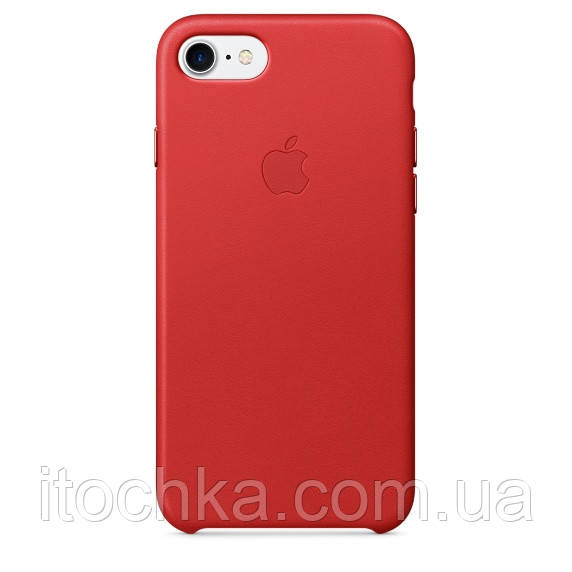 Apple iPhone 7 Leather Case Red(MMY62)
